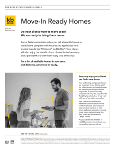 Do your clients want to move soon? We want to bring them home.