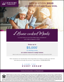Enjoy up to $5,000 in Closing Costs on Select Move-In Ready Homes!