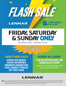 FLASH SALE! Our Lowest Prices of the Year!!