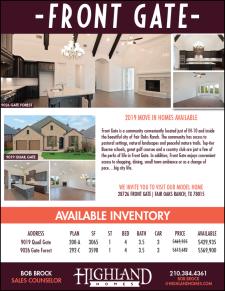 Fair Oaks Ranch | Move-In Ready Highland Homes