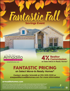 Fantastic Pricing​ and 4% Agent Commission on Select Move-In Ready Homes!