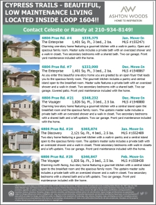 Find Your Beautiful Home in Cypress Trails!