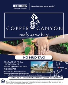 Find Your Home in Copper Canyon- Bulverde, TX!