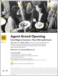 Food, Refreshments & Chance to Win $100 Gift Card in Knox Ridge Grand Opening!