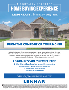 From The Comfort of Your Home!