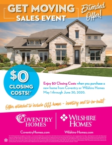 Get Moving Sales Event - Extended Offer!