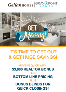 Get Moving with Rates as Low as 2.875%! PLUS $3000 Bonus!