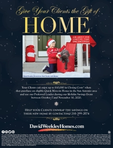 Give Your Clients the Gift of Home!