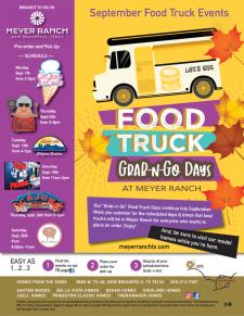 Good Eats during Meyer Ranch Grab-N-Go Days!
