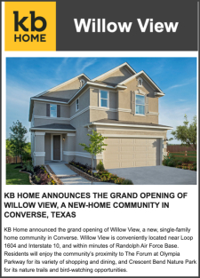 Grand Opening of Willow View!