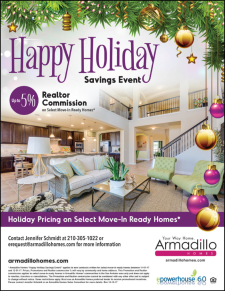 Holiday Pricing  and up to 5% Agent Commission on Select Move-In Ready Homes!