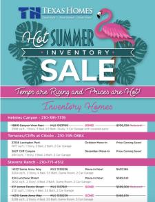 Hot Summer Inventory Sale!