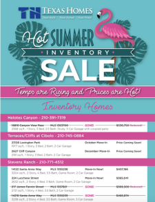 Hot Summer Inventory Sale