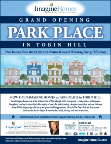 Imagine Homes Now Selling In Park Place in Tobin Hill