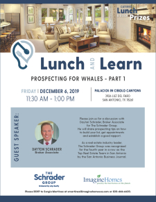 Join Us for a Lunch & Learn at Palacios!