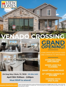 Join Us for the Grand Opening at Venado Crossing!