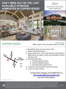 Last Acreage Homesites at Copper Ridge!