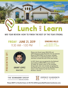 Lunch and Learn at Singing Hills