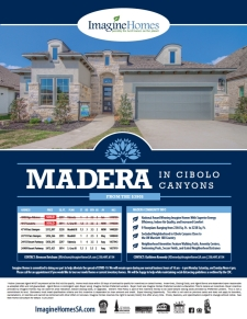 Madera in Cibolo Canyons Quick Move-In Homes!