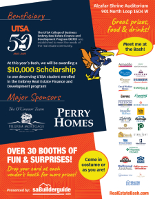 Meet Rowdy from UTSA at the Real Estate Bash + Thousands in Prizes!