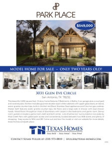 Model Home for Sale!