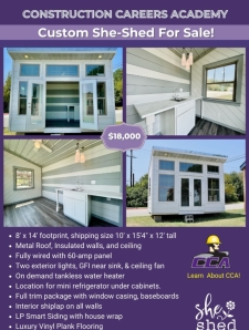 Custom She-Shed from Heaven For Sale!
