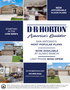 New Floor Plans at Alamo Ranch!