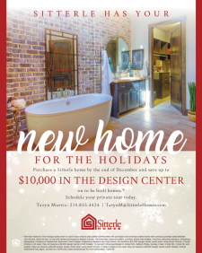 New Home For The Holidays - Save Up To $10,000 in our Design Center!