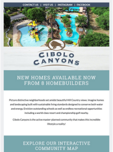 New Homes Available Now from 8 Homebuilders at Cibolo Canyons in San Antonio