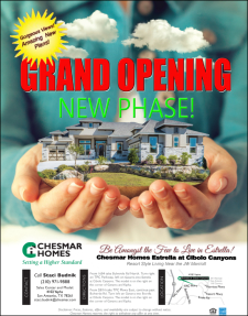 New Phase Grand Opening in Estrella at Cibolo Canyons!
