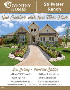 New Sections with New Floor Plans in Stillwater Ranch!