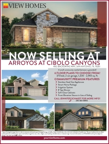 Now Selling at Arroyos at Cibolo Canyons!