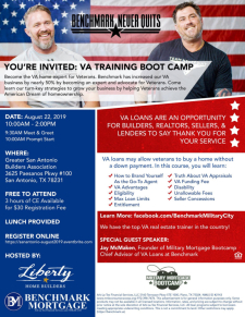 RSVP Now for this VA Training Boot Camp!