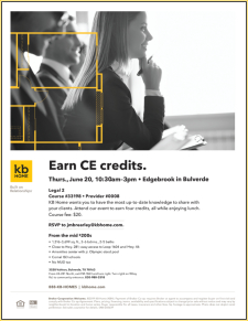 RSVP Now to Earn 4 CE Credits at the Edgebrook Legal 2 CE Class!