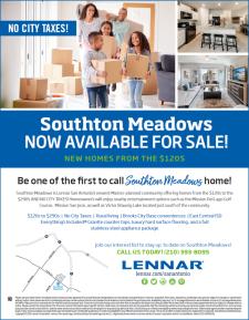 SOUTHTON MEADOWS NOW OPEN!