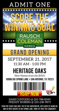 Score the Winning Goal - Join Us For a Grand Opening Event at Heritage Park!