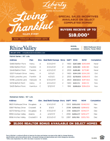 Special Incentives with our Living Thankful Sales Event!