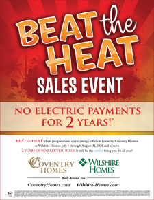 The Beat the Heat Sales Event Starts Today!