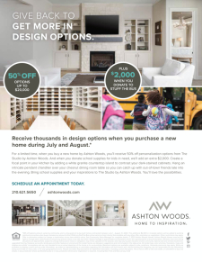 Thousands in Design Options for your Clients!