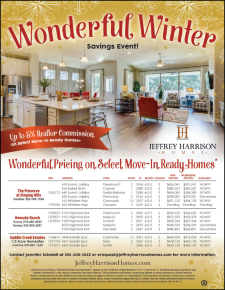 Up to 5% Agent Commission and Wonderful Pricing on Select Move-In Ready Homes!