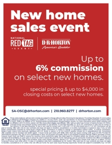 Up to 6% Commission on Select Homes!