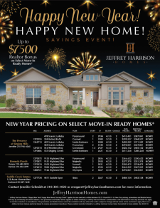Up to $7500 Agent Bonus and New Year Pricing on Select Move-In Ready Homes!