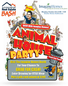 Visit the Imagine Homes Bash Booth and Grab for Cash!