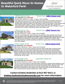Waterford Park Quick Move-In Homes