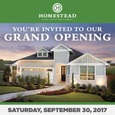 You're Invited to the Grand Opening of Homestead!