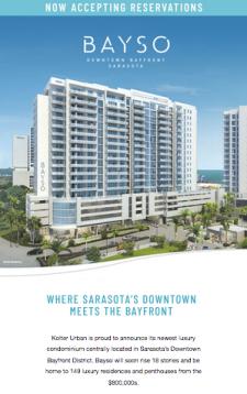 Bayso - Where Sarasota's Downtown Meets the Bayfront