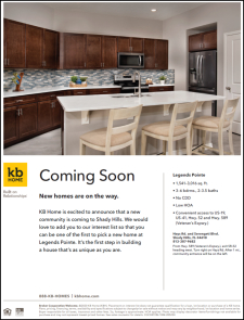 Coming Soon - New Homes to Legends Pointe in Shady Hills!