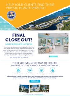 Earn 5% on Sales at One Particular Harbour!