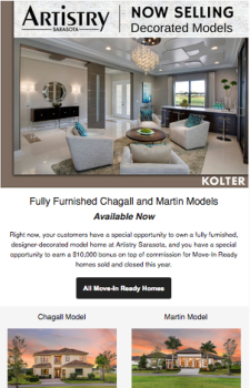 Just Released: Decorated Model Homes For Sale