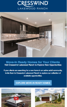 New Move-In Ready Homes at Cresswind Lakewood Ranch